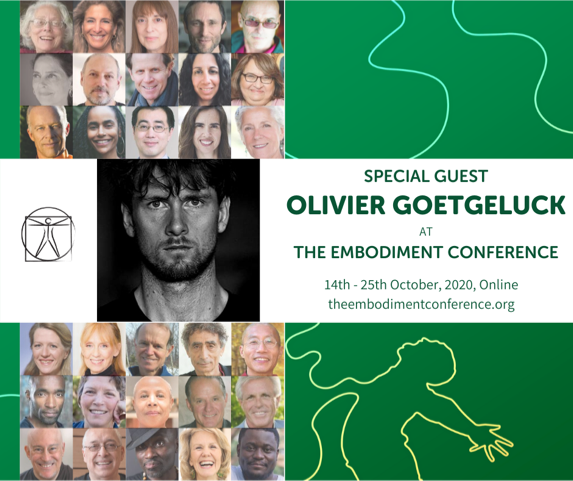 Coach Olivier Speaker at The Embodiment Conference